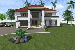 Architectural plans and 3d images
