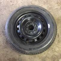 Audi A 4 Tyre and Rim In good condition 205/55 R 16