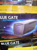 Rugged Blue gate UPS for alternative power supply in variety of sizes.