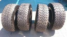Set of 265/70/17 BF Goodrich AT Tyres for sale