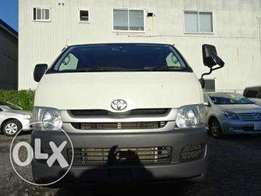 Shujaa wa kazi Toyota hiace chopper Matatu box 2010 7L finance terms