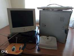 Used PC and Video Cassette Player