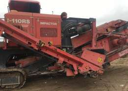 Used Finlay I-110RS Mobile impactor