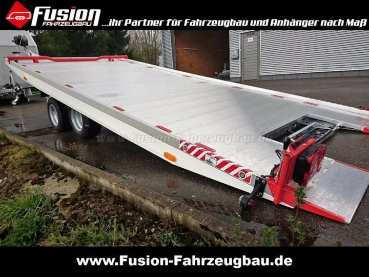 Vezeko Alu Autotransporter 500 x 209 cm, 2.700kg, kippb