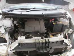 toyota yarris code 2 now stripping