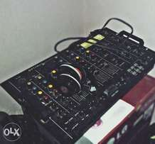 Optimus mixer stereo dj mixer. With 4 channels