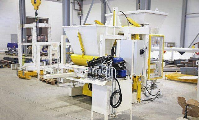 Vibropress Standart concrete block machine