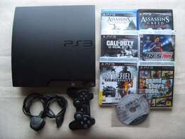 PS3 Chipped with games installed 1 pad
