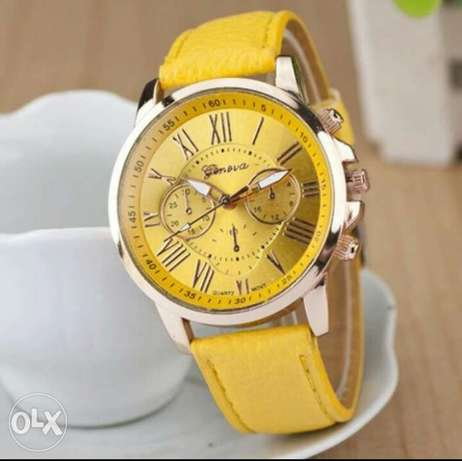Leather wristwatch for ladies Lagos - image 5