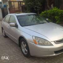 Clean Nigerian used Honda Accord