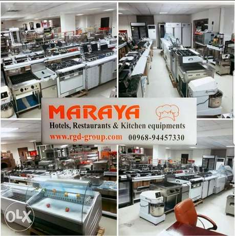 Maraya Kitchen Equipments