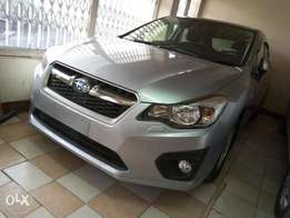 Just arrived Subaru Impreza new shape 2012 model