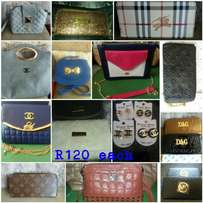 Bags or wallets R120 each