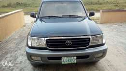 Clean Registered 2002 Toyota Land Cruiser V8 In Excellent Condition.