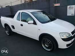 2009 opel corsa bakkie with mags and tyres almost new ..1 owner