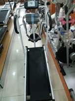 Brand new manual treadmill with Massager