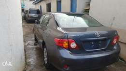 Brilliant Tokunbo 2009 Toyota corolla accident free, first body
