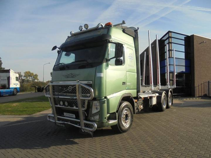 Volvo FH13 540 Globetrotter / Wood Transport / Full Steel / Manual - 2011