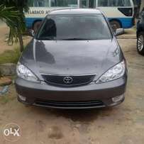 A very clean Grey Toyota camry 2005 model, urgent buyer needed