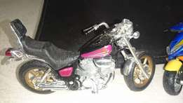 Small motor bike ornaments