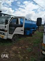 Isuzu water tanker 5600liters