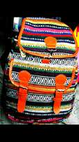 Tribal canvas bags