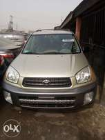 Clean Tokunbo 2003 Toyota Rav4 Fabric