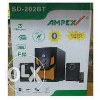 ampex subwoofer with bluetooth usb wifi etc