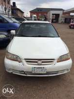Super clean Nigeria used Honda Accord 2002 model.