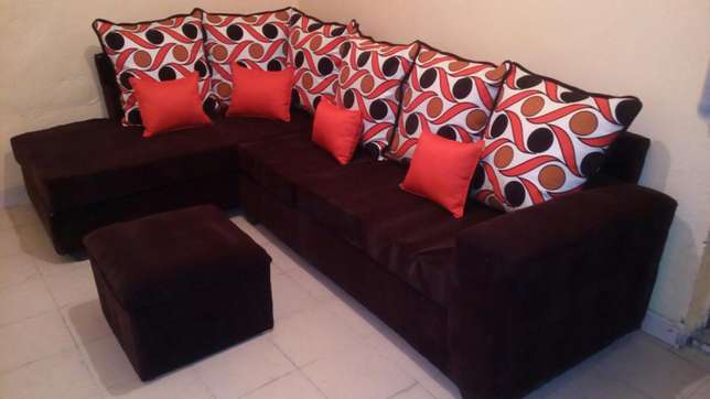 Sofa L seat six seater at a reasonable price Nakuru East - image 4