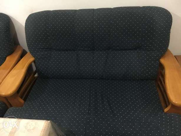 3+2+1+1 Sofa for Sale Cushions to be replaced.