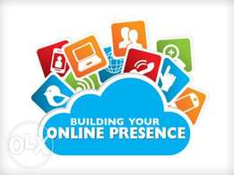 Build your online presence. Build a website for your business.