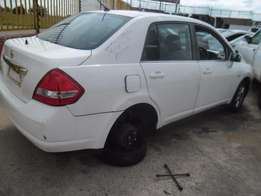 Nissan tiida 2006 model stripping for spares 1.6 engine