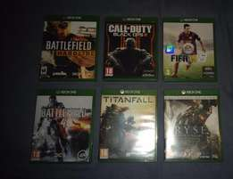 6 A rated XBOX 1 games for sale