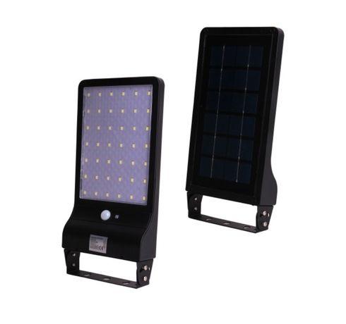 Lampa Solarna Led O Mocy 20w Z Panelem Solarnym Z Czujnikiem
