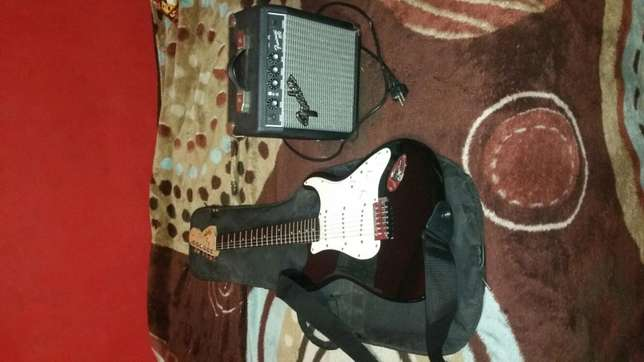 Fender Electric Guitar With Loads Of Extras Parow - image 1