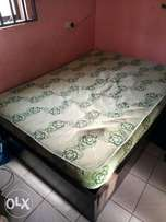 MOVING: Bed & Clean Mattress For Sale