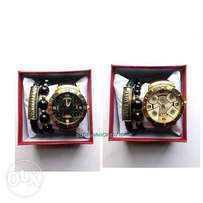 Men watches with bracelets