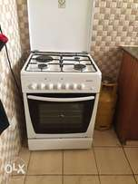 White cooker 3 gas burner 1 electric