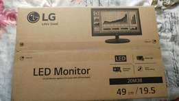 New LG 49cm led pc monitor for only R999!