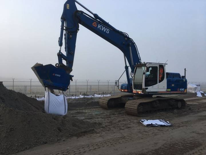 Wonderlijk New BIGBAG vuller tracked excavator te koop | Tradus AG-36