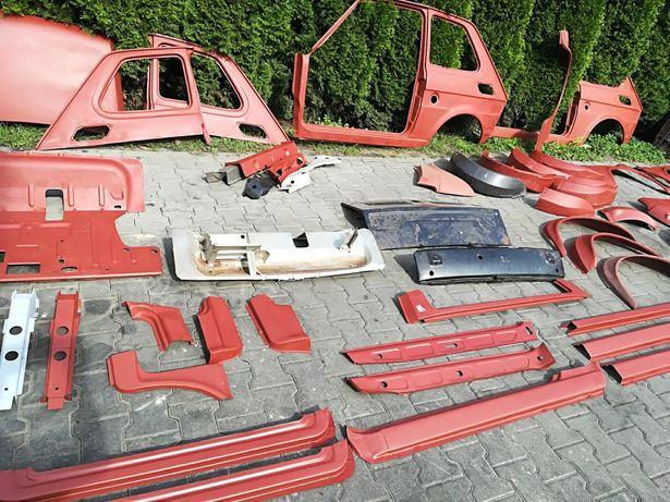 Inteligentny Fiat 126p blacharka karoseria nowe części ST Wrocław Krzyki • OLX.pl SV33