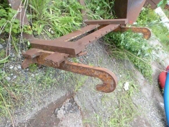 Sale pallet forks for crane pallet fork for  by auction