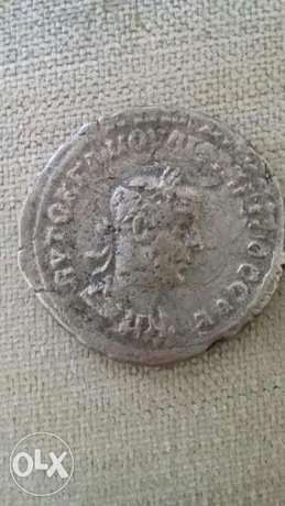 Roman Silver Coin Phillip II SC from year 244 AD
