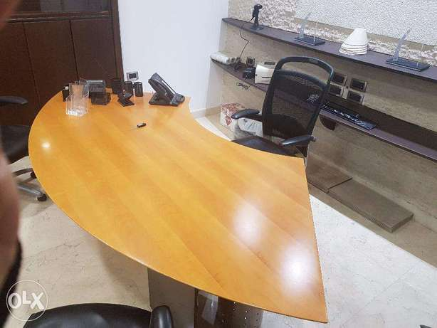 CEO/GM Office Table - Made in Italy / New condition