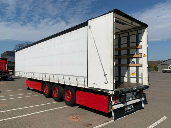 Schmitz Cargobull SCS 24/L Liftachse 7097kg Deutsches Fahrzeug - 2015
