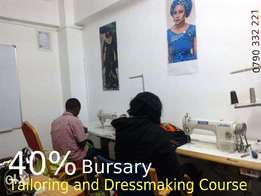 Bursary on Tailoring and Dressmaking Course