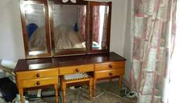 Emboia and Yellowwood dressing table