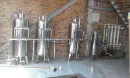 Reverse Osmosis Water Purifying Machine (5000 litres/hr)
