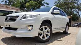 Toyota VANGUARD si edition G grade top of the range fresh stock 2010
